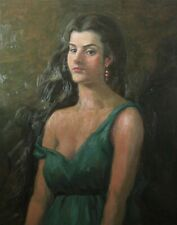 "Grecian Girl (original oil painting 24"" x 30"")"