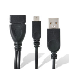 USB MICRO HOST OTG A Female To Micro Male Power Cable For Samsung Galaxy Tablet