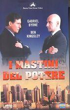 I Mastini del Potere  (1997) VHS Eagle Video 1a Ed.  Gabriel Byrne, Ben Kingsley
