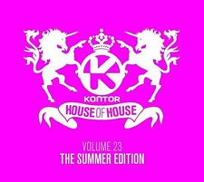 Kontor = House of house 23 = Fedde/Antoine/shog/Hardwell... = 3cd = groovesdeluxe!