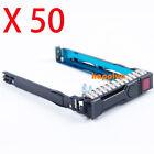 "50 of 651687-001/651699-001 2.5""HDD Tray Caddy For hp dl60/dl380/dl350/dl360 g9"