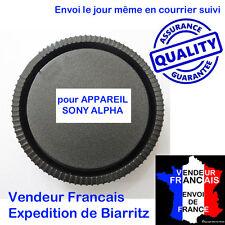 Bouchon arriere objectifs Sony A35 A37 A55 A57 A58 A65 A68 A77 A77II A99 A99II