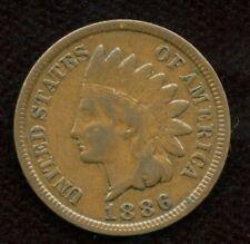 1886 USA 1 Cent - Very Fine