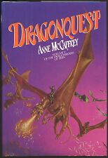 Fiction: DRAGONQUEST by Anne McCaffrey. 1979. Signed 1st edition, printing