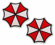 "RESIDENT EVIL - Pair of ""Umbrella Insignia"" - Prop Patches - 3"" - Cosplay"