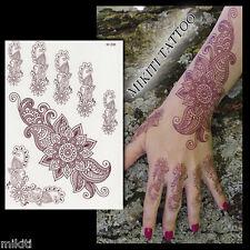 ►TATOUAGE TEMPORAIRE ORIENTAL HENNE (mehndi, tatouage éphémère oriental)◄