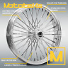 HARLEY FAT SPOKE WHEEL 21X3.5 40 FAT FITS HARLEY TOURING BAGGER 00-20 MODELS NEW