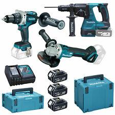 Makita Set DLX3092TJ 3 Werkzeuge Bohrmaschine 3x BL1850 inkl. MAKPAC