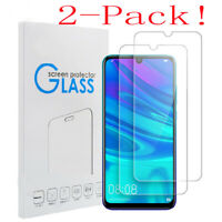 2Pcs Tempered Glass Screen Protector For Huawei P10 P20 P30 Lite Pro P Smart ES