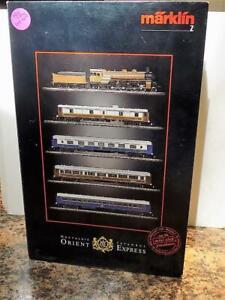 Marklin Z-scale 8108  Orient Express Excellent serviced 5 pole Motor