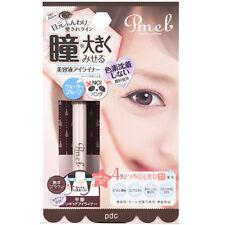 pdc Japan Pmel Essence Liquid Eyeliner Waterproof no panda eyes [Deep Brown]