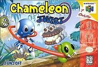 Chameleon Twist Nintendo 64 N64 Video Game Cart Authentic Super Rare Sunsoft OEM