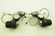 COPPIA Shimano SB-C201/C202 24 SPD 8x3 REVO GripShift indice Cambio Leva Del Freno V
