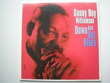 SONNY BOY WILLIAMSON Down And Out Blues LP new mint sealed vinyl 2018