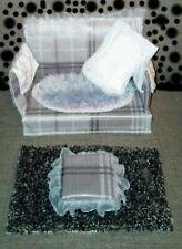 Sofa For Barbie / Sindy / Fashion Doll 'Rosie Style' Living Room Furniture Sofa