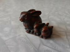 Priory Castings Bunnies - Resin Rabbits - Small Ornament