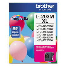 Brother LC203M Innobella High-Yield Ink Magenta