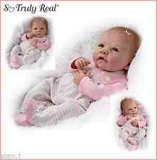 Ashton Drake Elizabeth poseable baby girl  Weighted doll -  Free UK delivery!