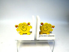 Pair of 'Little Miss Sunshine' Bookends