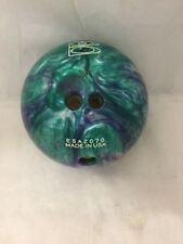 Brunswick Bowling Ball Z Zone Blue And Green 4.6kg Ten Pin Bowling
