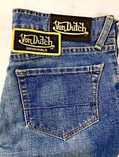 Vintage! VON DUTCH Women's Jeans size 28 MADE IN AMERICA ICONIC LABEL EXC 28x31