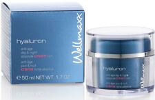 Wellmaxx Hyaluron Anti-Age Tages- und Nachtcreme cream rich 50 ml, 5500131