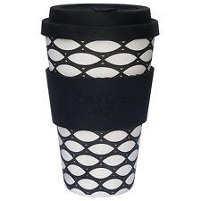 Ecoffee Cup 400ml 14oz Reusable BPA Free Bamboo Tea Coffee Travel Mug Basketcase