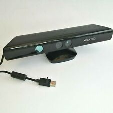 Microsoft Xbox 360 Kinect Sensor Bar Black Genuine Official Black USB Wired Used