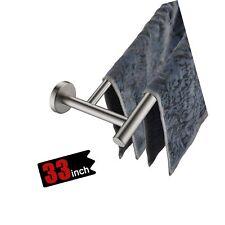 Jqk Double Bath Towel Bar, 30 Inch Stainless Steel Towel Rack for Bathroom, T.