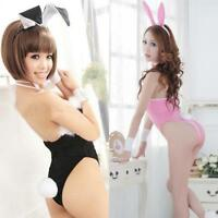 Sexy Lingerie Exotic Bunny Costumes Role Play Cosplay Lace Rabbit Uniform Women