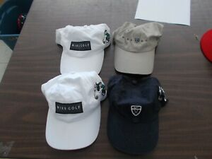 Lot of 4 Nike Golf hats with Mickey Mouse OSFA