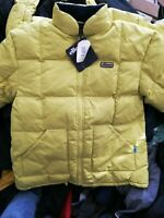 ELLESSE JACKET SKI PUFFER JACKET IN YELLOW IN LARGE OR X/L £45 DUCK FILLED
