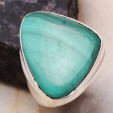 Jewelry Us Size-9 Ar 27390 Malachite Ethnic Handmade Man's Ring