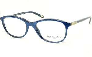 NEW TIFFANY & Co. TF 2083 8159 STRIPED BLUE EYEGLASSES GLASSES FRAME 51-17-140mm