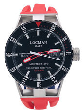 Orologio Locman MonteCristo Automatico 0513KRD/780 Gomma Scontatissimo Nuovo