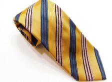 MASSIMO BIZZOCCHI by KITON ITALY Stripe Woven Silk Necktie Tie