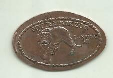 Elongated penny (cent) Potter Park Zoo Lansing Mi m#3 zinc coin
