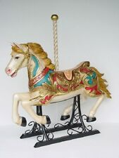 Carousel Horse With Metal base Plate up to 60KG