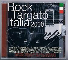 ROCK TARGATO ITALIA 200 LITFIBA LIGABUE AFTERHOURS  LA CRUS DIAFRAMMA CD SIGIL.