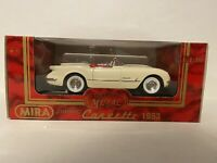 Vintage Diecast 1:18 Mira Golden Line 1953 Chevy Corvette Mint Made In Spain