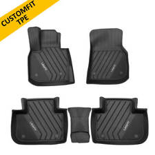 Car Floor Mats for Bmw X3 2019-2021 Front&Rear Rows All Weather Black Heavy Duty