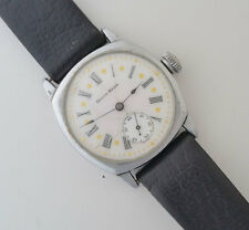 Antique South Bend Art Deco Watch Porcelain Dial Year 1911 Works and Keeps Time