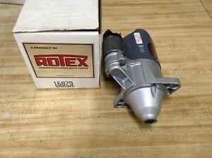 ROTEX Starter 16879 Reman for CHEVROLET ISUZU 1.5L 1985-1989