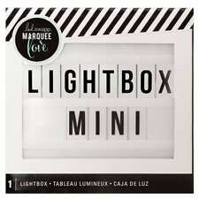American Crafts White Heidi Swap Mini Lightbox Light Up Messages - 2-Pack