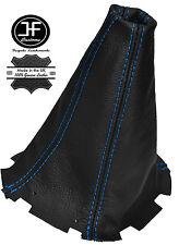 BLUE STITCH LEATHER 5 SPEED MANUAL GEAR GAITER FITS SUBARU IMPREZA WRX 01-05