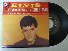 vinyl  ELVIS PRESLEY    ---HOW WOULD YOU LIKE TO BE+1   ***PRINTED IN HOLLAND***