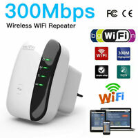 WiFi Signal Range Booster Wireless Internet Network Extender Amplifier Repeater