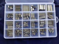 M1.5-M8 Split Spring Dowel Pin Tension Roll Pins Box Set Stainless Steel 280Pcs