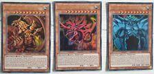 Yu-Gi-Oh! Divinità Egizie Slifer + Obelisk + Drago Alato di Ra ☻ ITALIANO ☻ LDK2