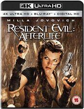 Resident Evil - Afterlife 4K Ultra HD + Blu-ray + Digital HD UHD [New & Sealed]